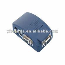 pc vga to tv video av signal converter