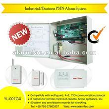 "Eight languages!!!""!long-range Wireless Business landline intelligent burglar security alarm system(YL-007GX-8/16)"