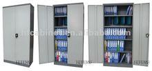 Metal Cupboard with Swing Door 240 degree, 4 Shelves Cabinet