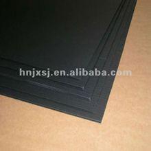 Black plastic recycling corrugated sheet