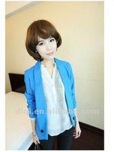 2012 Korean fashion slim-fitting elegent long sleeve lady jacket