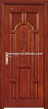 classical wooden single door designs for room