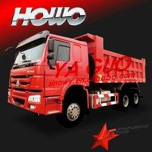 Howo 6x4 heavy duty tipper truck