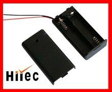 Black battery holder
