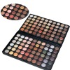 Professional 120 full Warm Color Eyeshadow Makeup Palette 04# with 2 layers
