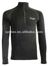 Polypropylene PP merino wool blend shirt long sleeve base layer
