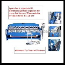 sheet metal cutting and bending machine/box and pan brakes