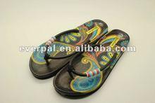 bead strap eva fashion flip flop sandal beach slipper