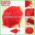rojo de la boda paraguas