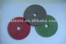"wet granite diamond polishing pads 4"" 100mm wet polishing pads"