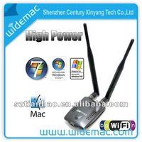 USB 802.11N 1000mW 300MBPS dual Antenna 5DBi wifi adapter