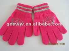 New explosion models Offset gloves fashion print gloves