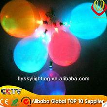 LED Light Up balloon Party Supply RGB Flashing