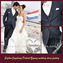 New Style Hot Sale Navy Men's Wedding Suits