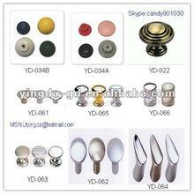YD-022-066 Different types Plastic/Zinc alloy oval door knobs from Door handle knobs factory