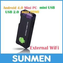 Mini PC Android 4.0 MK802 TV Box with HDMI 1GB RAM 4GB Rom