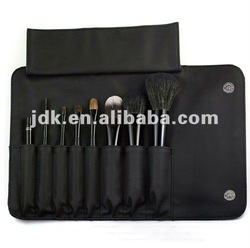 quality 8pcs cosmetic brush in case