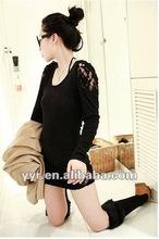 2012 Fashion Chic Autumn Lady Long Sleeve Lace womens clothing