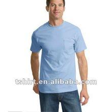 Client customize men plain t shirts