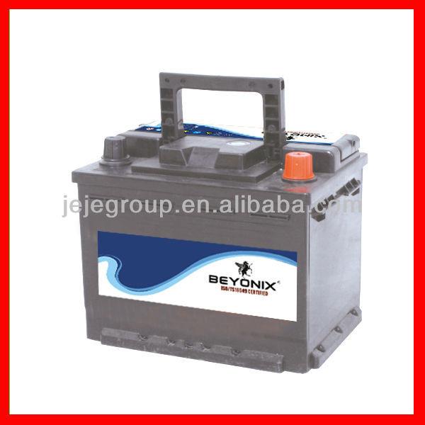 Beyonix Hot Export High Quality Sealed Maintenance Free Car Batteries MFDIN60 12V60AH