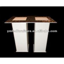 plastic bar table/mini bars/led bar table