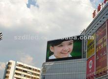 P12 rgb outdoor advertising scroll usb digitizer display