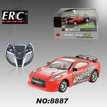 1:43 rc diecast car metal model car for gift