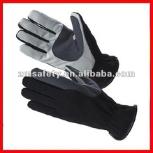 Leather sports bike and racing glove