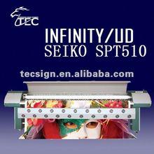 infinity digital printer with seiko SPT510/35pl head