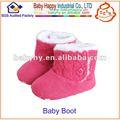 Coût- efficace tricoté, bottes d'hiver pour bébé