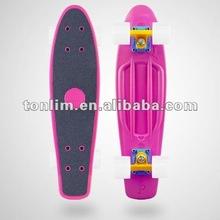 OEM Color 22 Or 27 Inch Plastic Skateboard