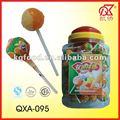 15g kaiqiao nuevo de la marca gomademascar lollipop dulces y caramelos
