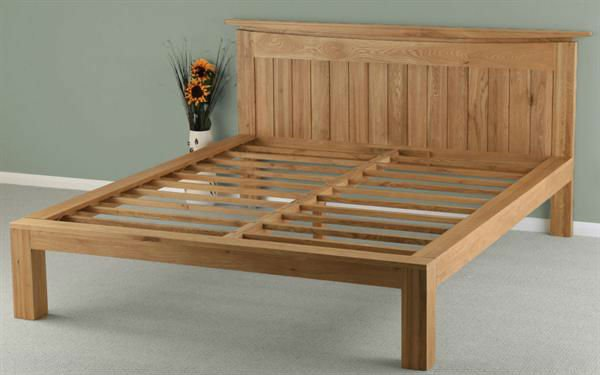 Solid wood bed frame view unique bed frames milestone product details from qingdao milestone - How to build a modern bed frame ...