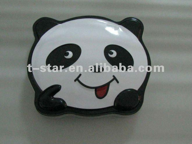 Panda carino a forma di caramella/torta/scatola regalo