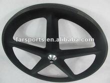 New 5 spokes carbon wheelset! ! !100% toray carbon spoke wheelset 700C tubular wheelset,only 1760g/set, Dropshipping