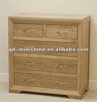Solid oak wood bedroom furniture