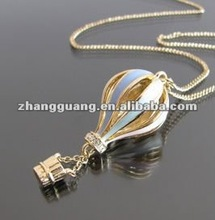 fashion air balloon Pendant necklace jewelry