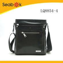 2015 men leather shoulder bag shoulder strap bag men italian leather messenger bag