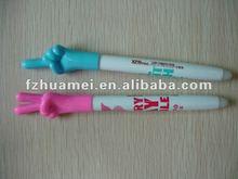 plastic erasable ball pen