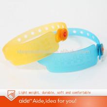 Plastic id wristband
