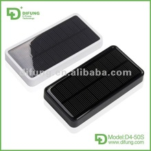 Unique Mobile Solar Cell Battery 5000mAh 146g for iphone/ipad