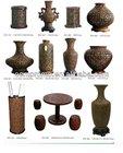 Pecan handicraft;Wooden Vase;Decoration Wooden Vase;