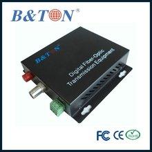 BT-1V1D-T/RS Fiber Optic Optical Fiber Audio Video Transceiver