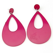 2012 Latest Artificial Jewellery Acrylic Drop Earring For Party (JW-1068)
