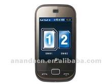smartphone B5722 dual sim dual standby phone,quadband , capacitive touch screen ,bluetooth
