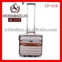 2012 popular cotton trolley luggage