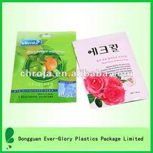 Delicate Aluminum Foil Hot Selling Facial Mask Printed Plastic Bags