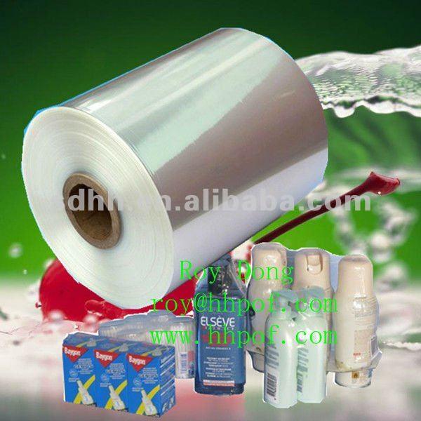 5 layer polyolefin pof heat shrink plastic film