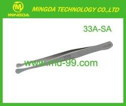 Factory price !!! Stainless steel tweezers 33A-SA / Cleanroom tweezers / High precise tweezers