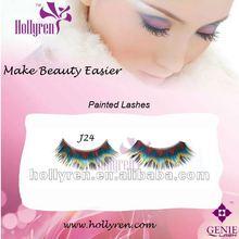 (#J24)New Arrival Color False Eye Lashes